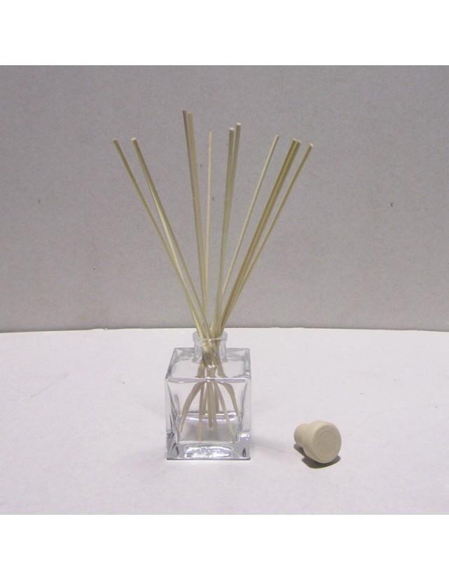 Frasco para mikado 100 ml con varillas rattan incluidas